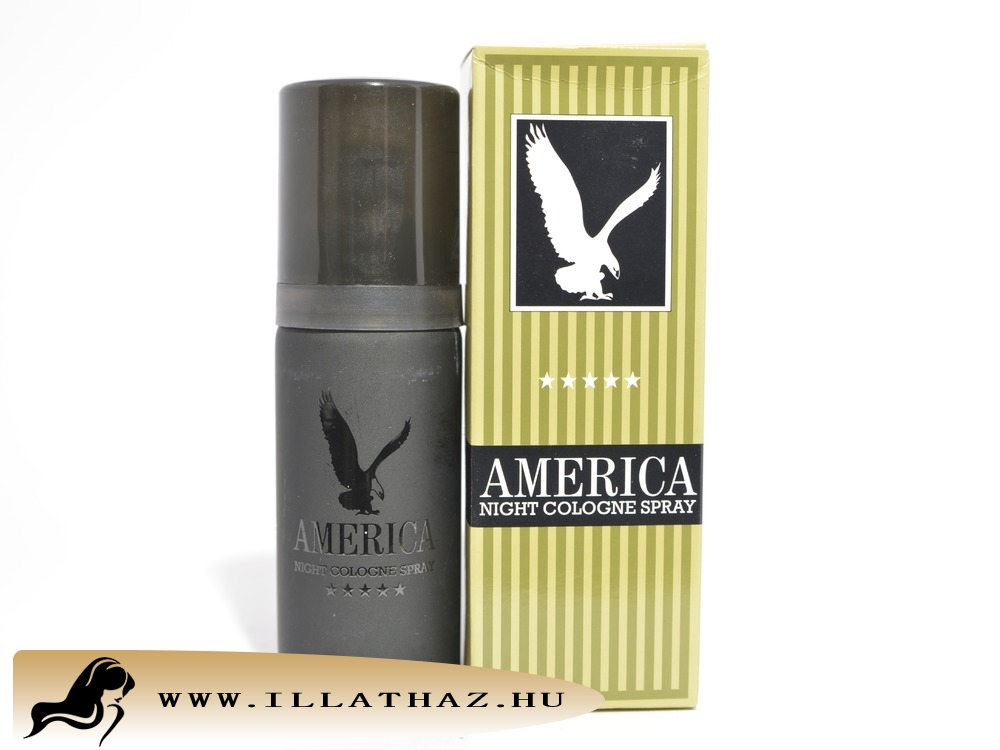 America edt night cologne spray for man