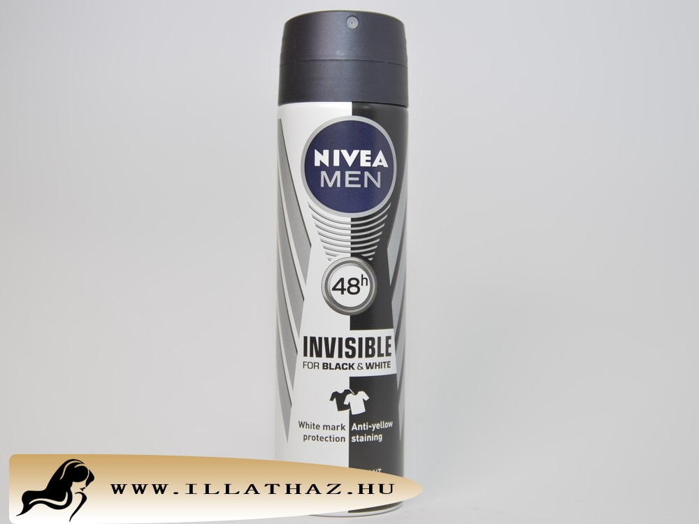 Nivea men deo spray invisible for black & white