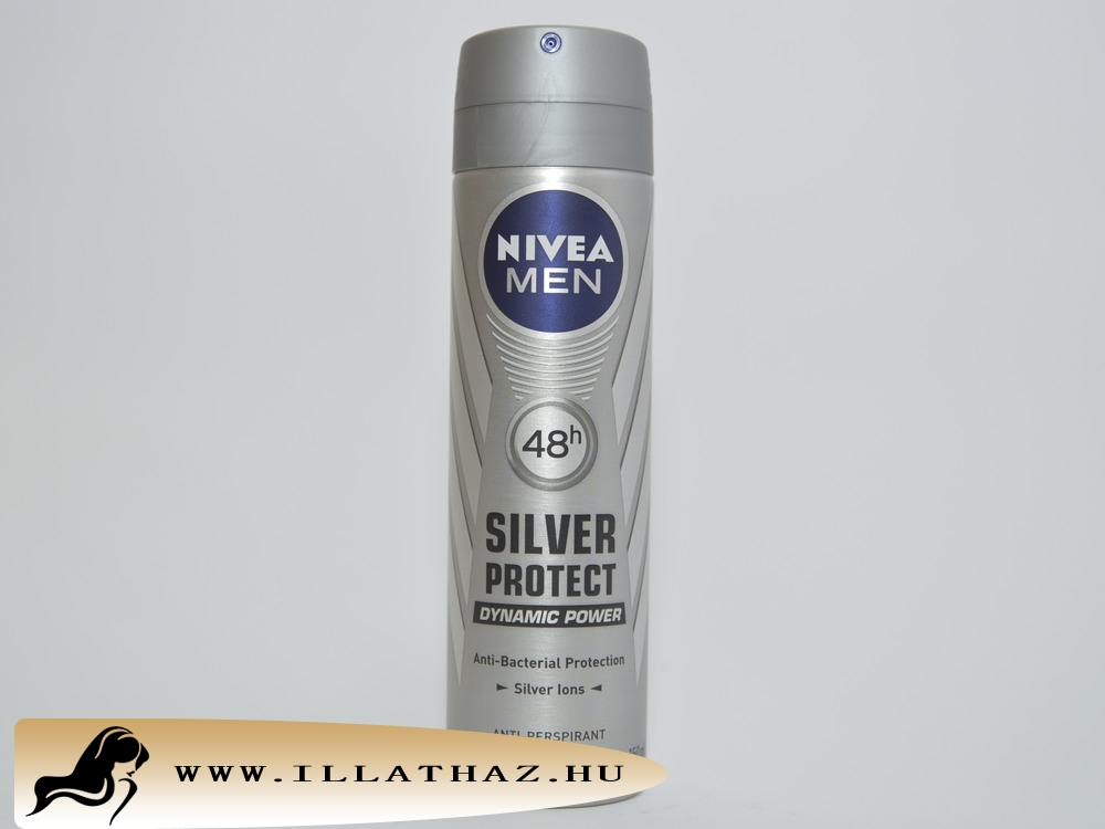 Nivea men deo spray silver protect