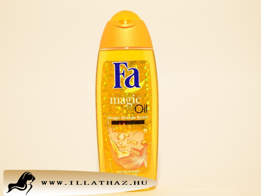 Fa tusfürdő magic oil ginger orange scent