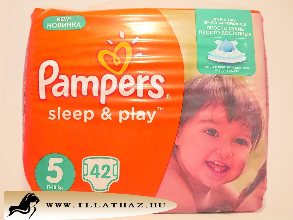 Pampers sleep & play pelenka 5-ös