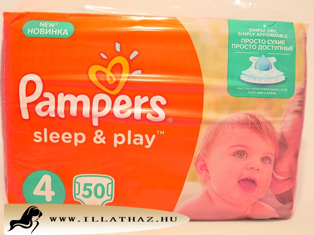 Pampers sleep & play pelenka 4-es