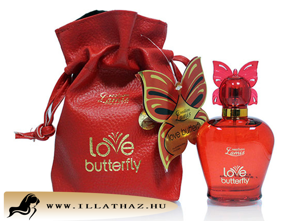 Lamis edp Butterfly red