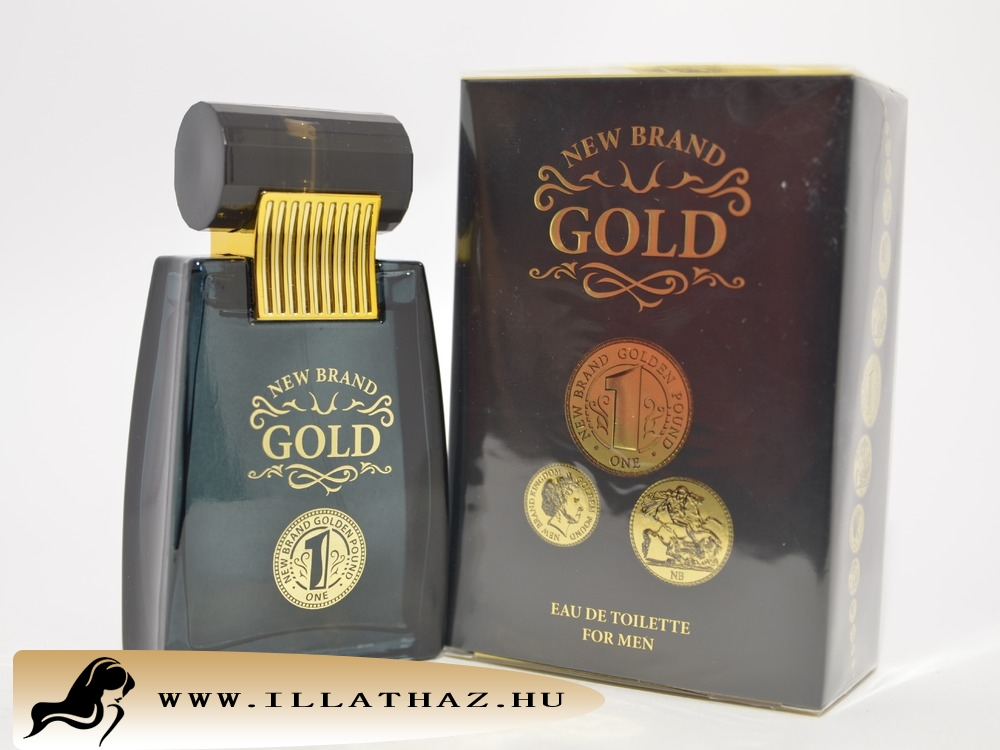 New Brand edt gold for men