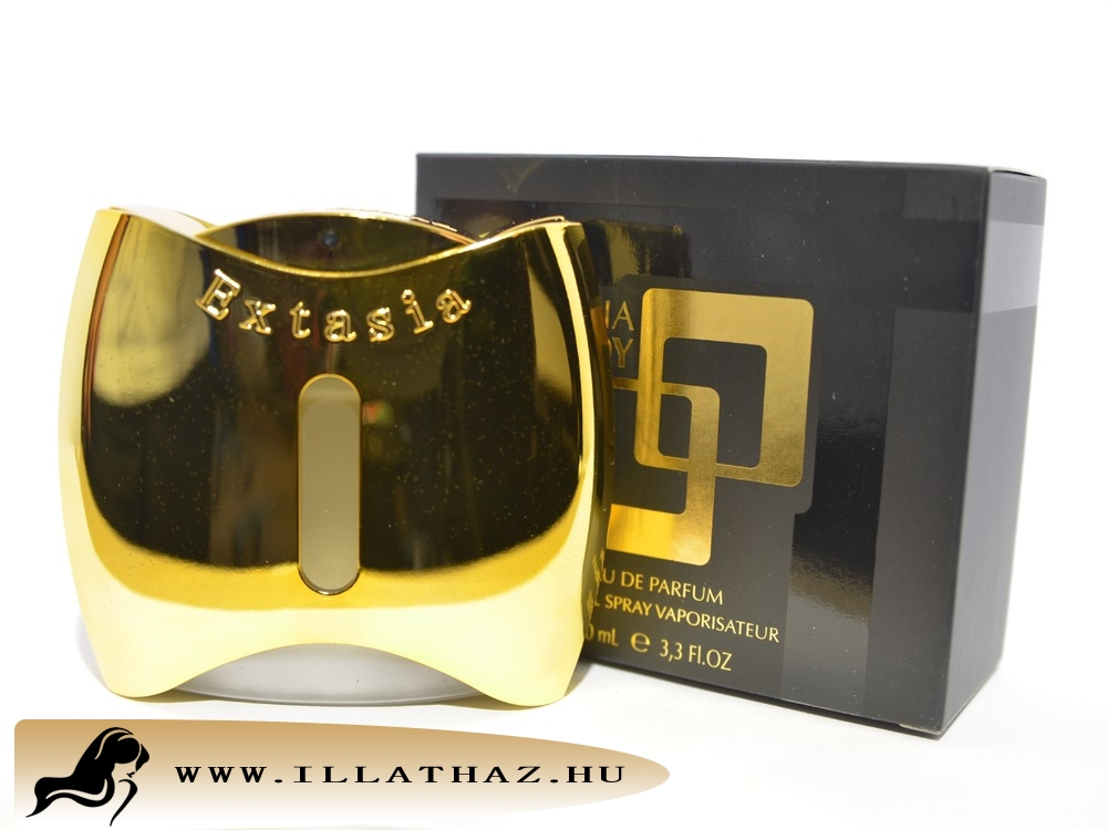 New Brand edp extasia goldy for women