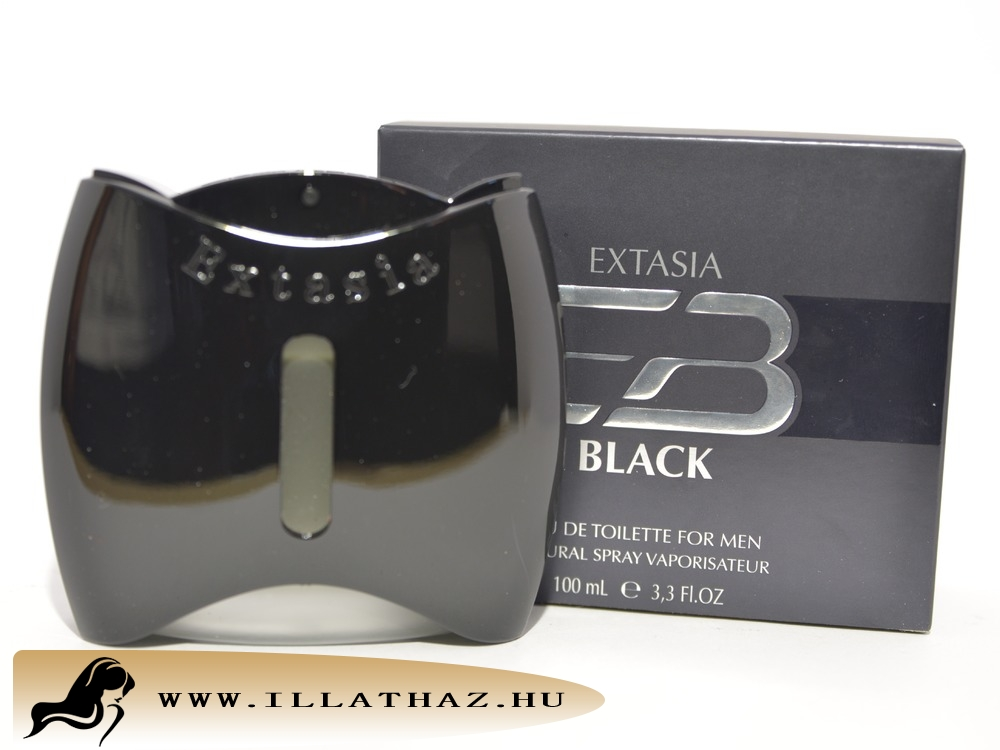 New Brand edt extasia black for men
