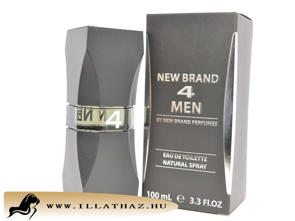New Brand edt 4 men