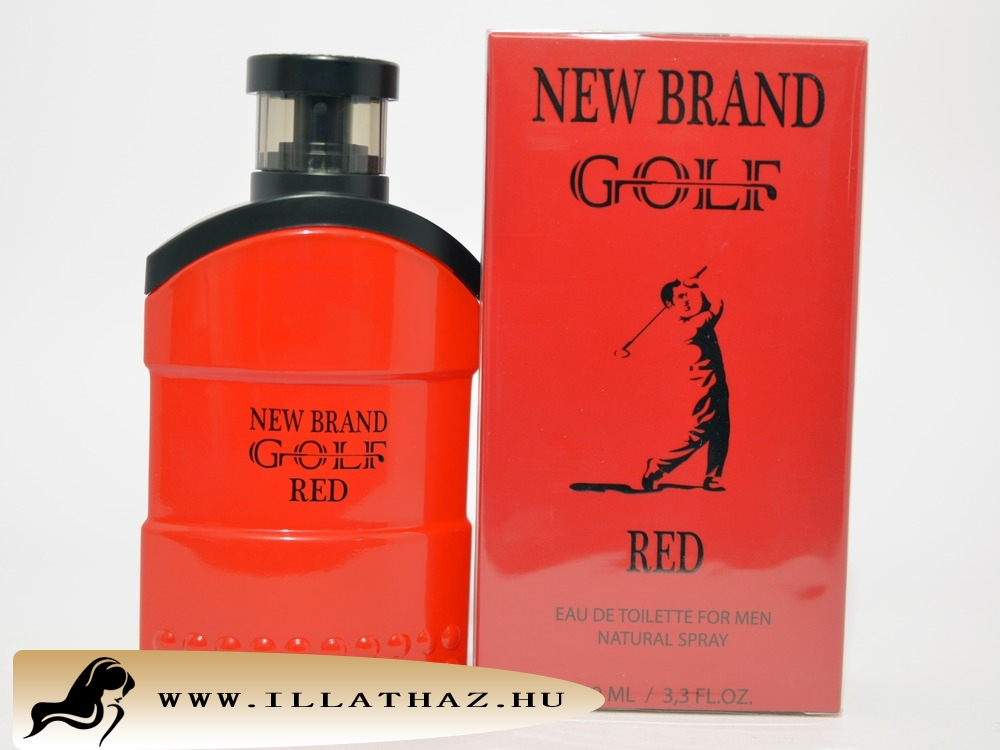 New Brand edt golf red