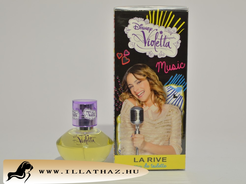 LA RIVE edt Disney violetta music