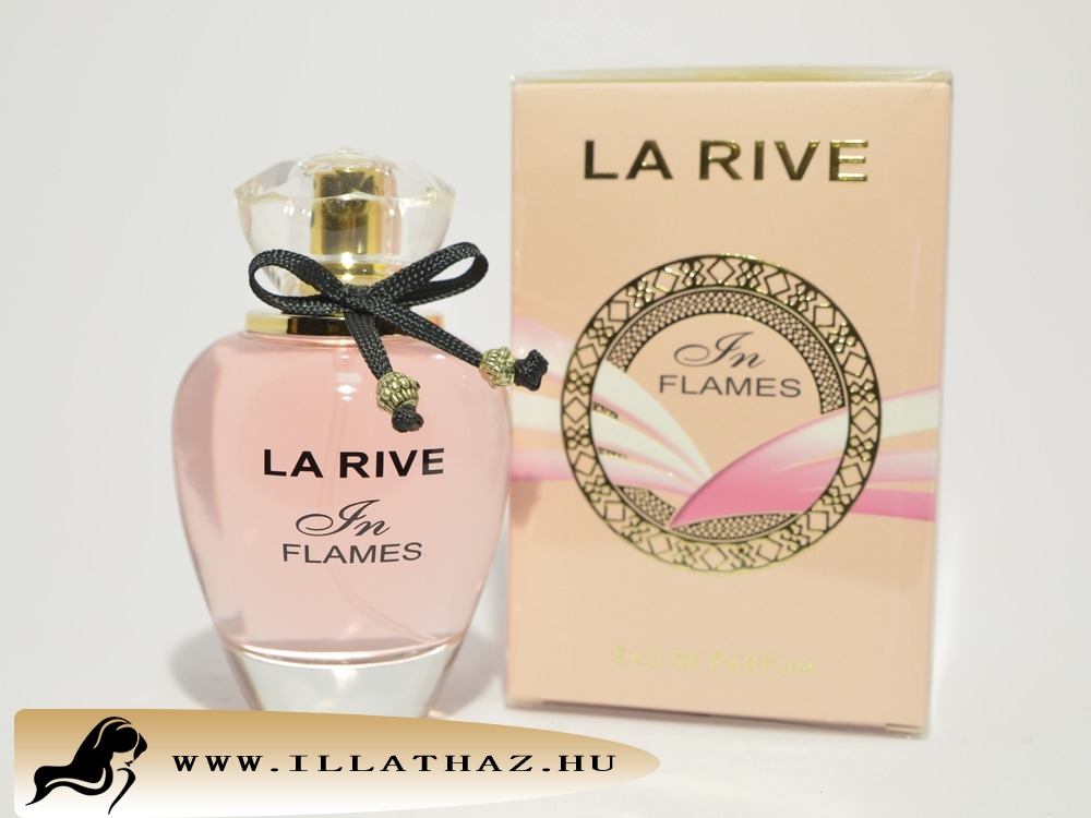 LA RIVE edp in flames for woman