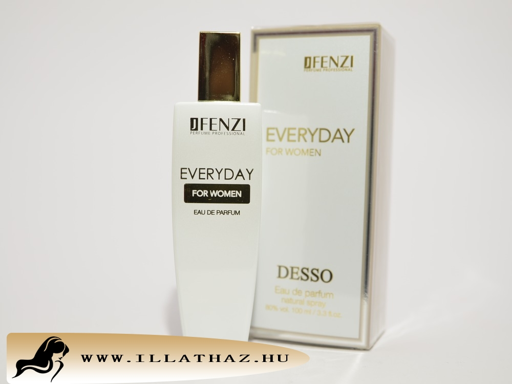 JFenzi edp everyday for women desso