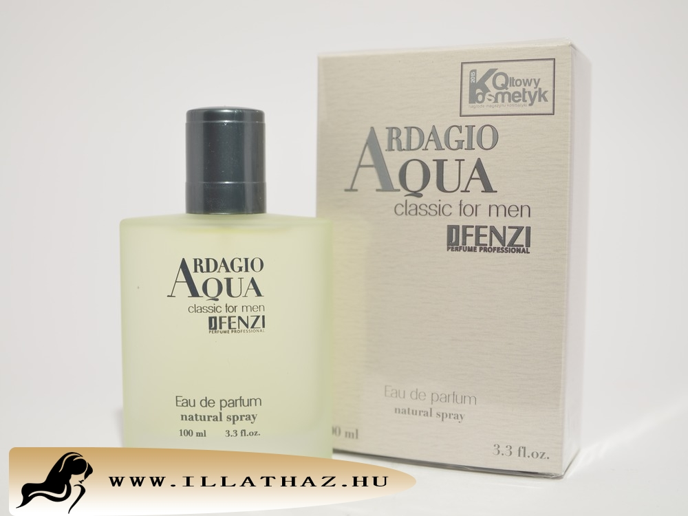JFenzi edp ardagio aqua classic for men