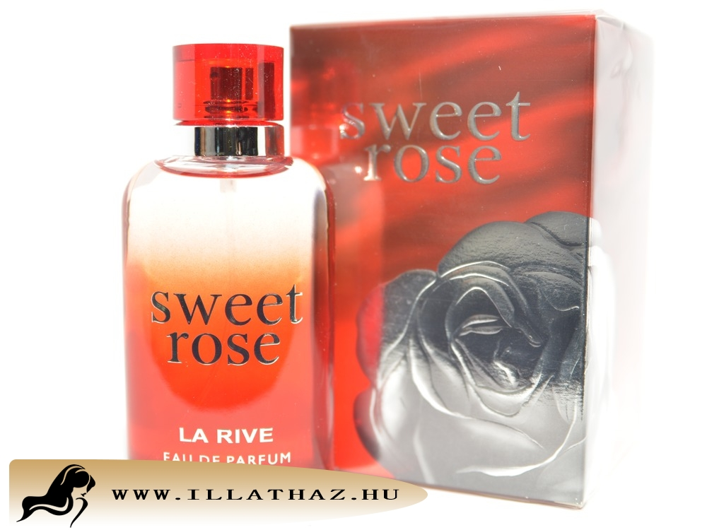 LA RIVE edp sweet rose for woman