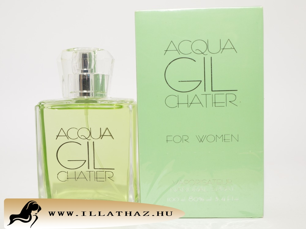 Chatier edt acqua gil chatier for women