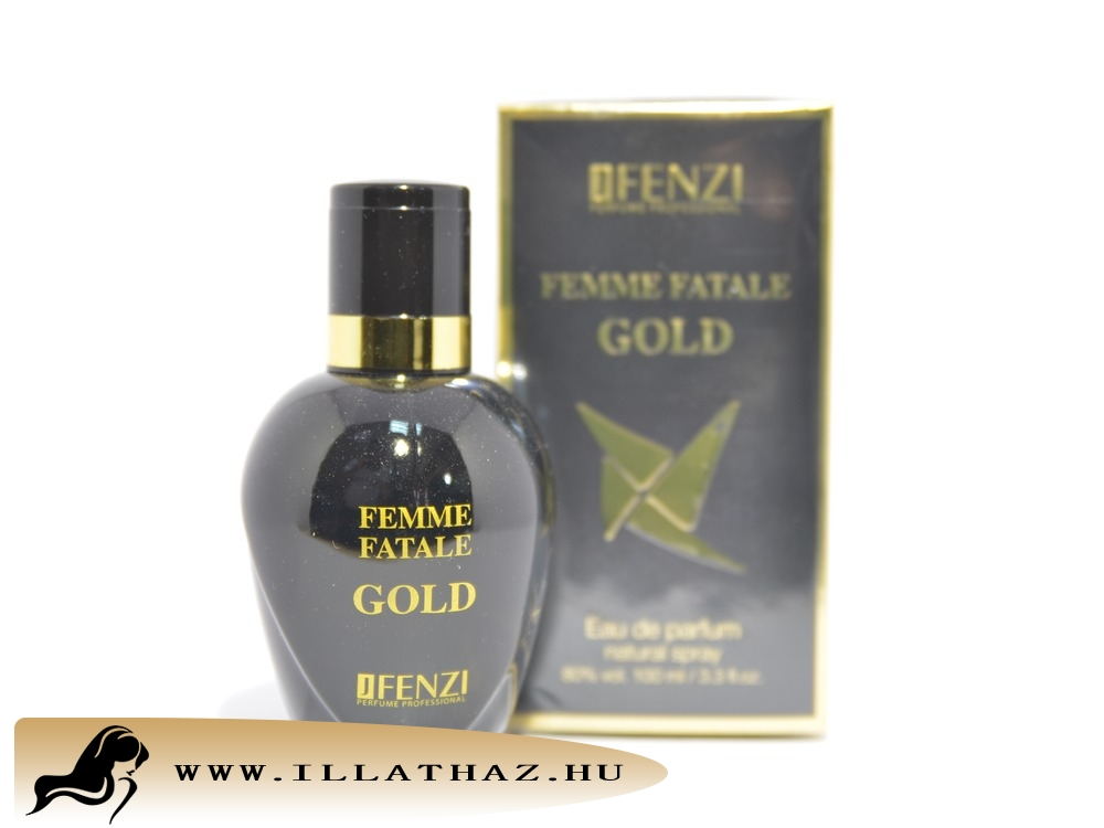 JFenzi edp femme fatale gold for woman